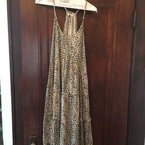 Rebecca Taylor Leopard Print Dress
